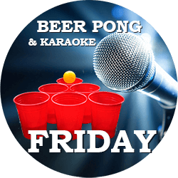 Beer Pong Tournaments & Karaoke